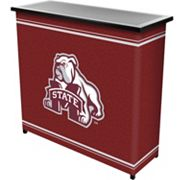 Mississippi State Bulldogs 2-Shelf Portable Bar with Case
