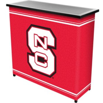 North Carolina State Wolfpack 2-Shelf Portable Bar with Case