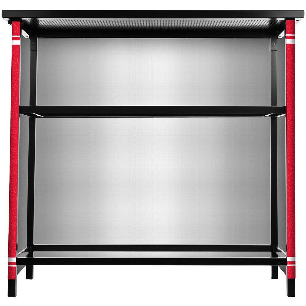 North Carolina State Wolfpack 2-Shelf Portable Bar with Case