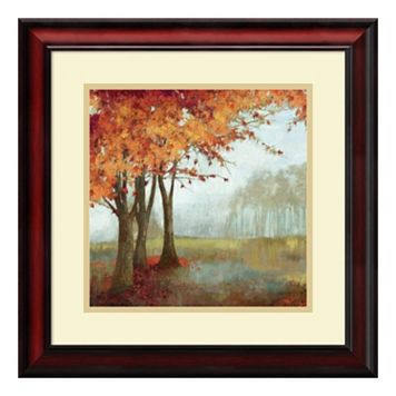 ''Sense of Space II'' Forest Framed Wall Art