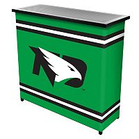 North Dakota 2-Shelf Portable Bar with Case
