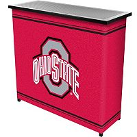 Ohio State Buckeyes 2-Shelf Portable Bar with Case