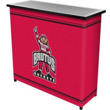 Ohio State Buckeyes 2-Shelf Portable Bar with Case