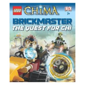 LEGO Legends of Chima Brickmaster: The Quest For Chi Book