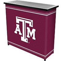 Texas A&M Aggies 2-Shelf Portable Bar with Case