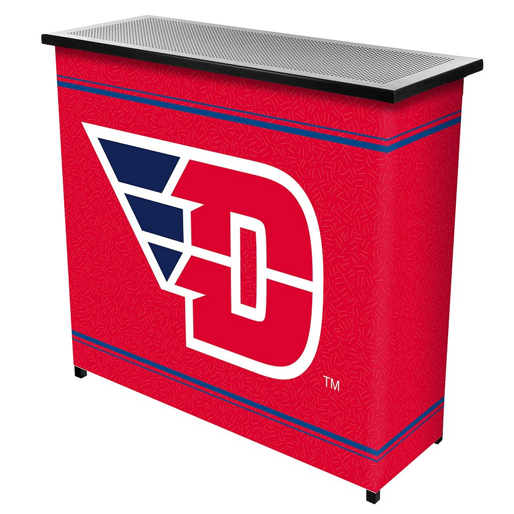 Dayton Flyers 2-Shelf Portable Bar with Case