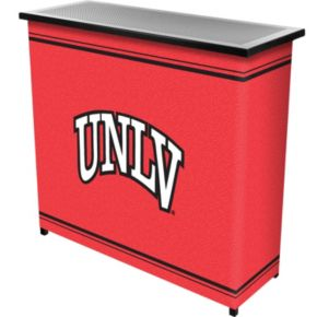 UNLV Rebels 2-Shelf Portable Bar with Case