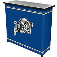 Navy Midshipmen 2-Shelf Portable Bar with Case
