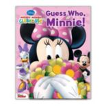 Disney's Minnie Mouse Guess Who, Minnie! Book