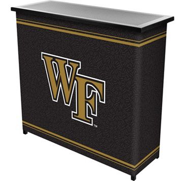Wake Forest Demon Deacons 2-Shelf Portable Bar with Case