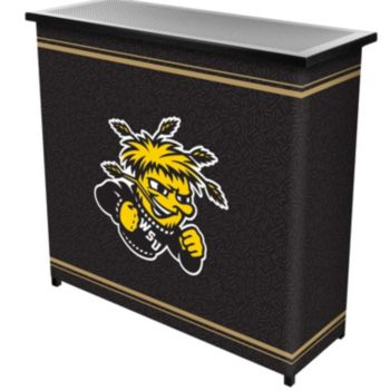 Wichita State Shockers 2-Shelf Portable Bar with Case