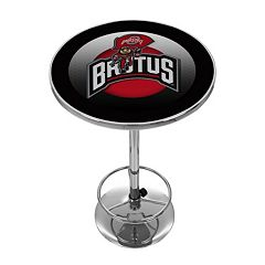 Ohio State Buckeyes Chrome Pub Table