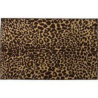 Infinity Home Kings Court Leopard Print Rug - 3'3'' x 4'7''