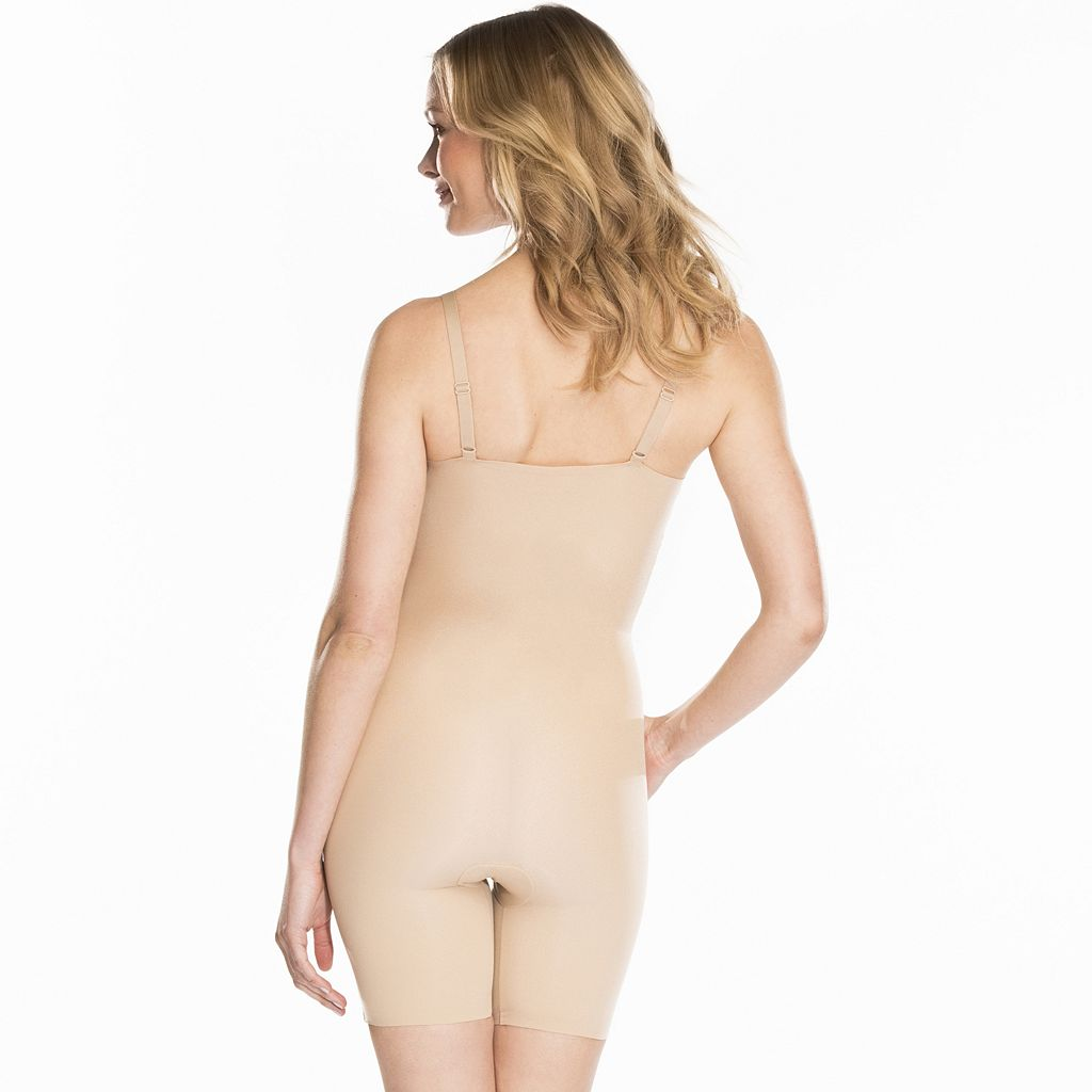 Red Hot by Spanx Clever Controllers Mid-Thigh Body Shaper SS3515 - Women's