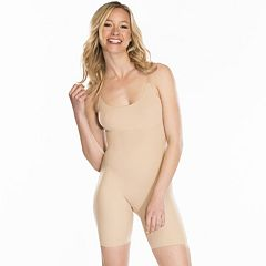0180ba1f456 Red Hot by Spanx Clever Controllers Mid-Thigh Body Shaper SS3515 - Women s. Very  Bare Black