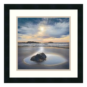 ''Perfect Fit'' Seascape Framed Wall Art