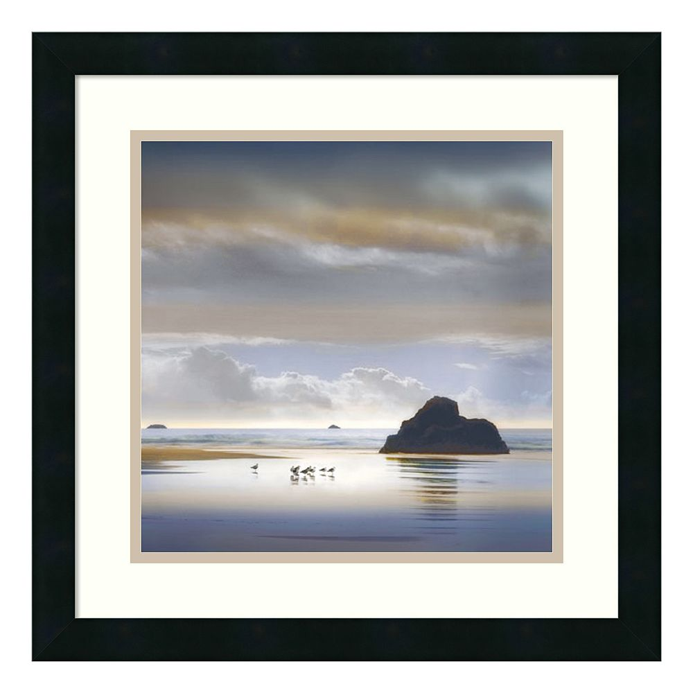 ''One of Us Must Know'' Seascape Framed Wall Art