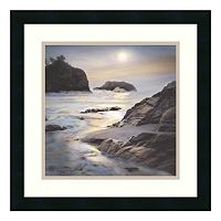 ''Where the Angels Hide'' Seascape Framed Wall Art