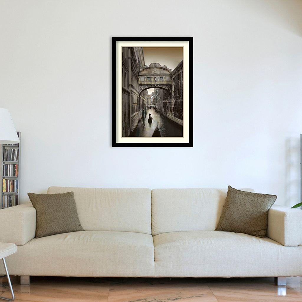 ''Don't Look Back'' Venice Framed Wall Art