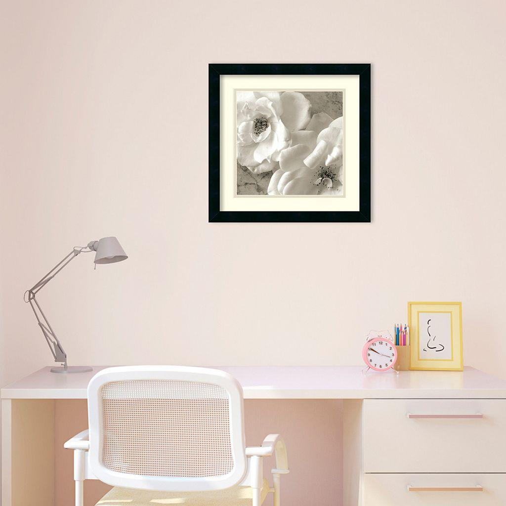 ''Poppy Study III'' Floral Framed Wall Art