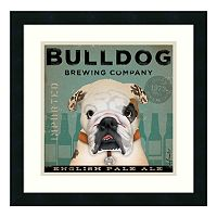''Bulldog Brewing Company'' Framed Wall Art