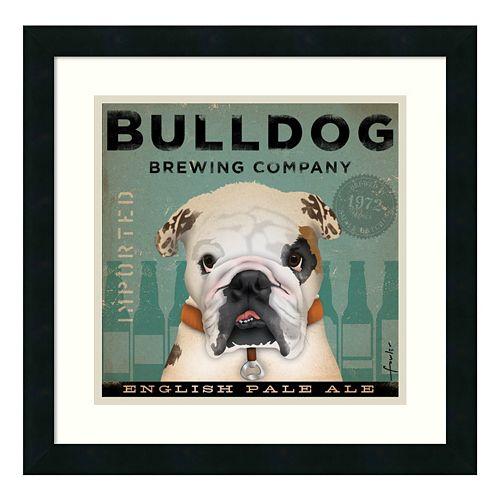 ''Bulldog Brewing Company'' Framed Wall Art