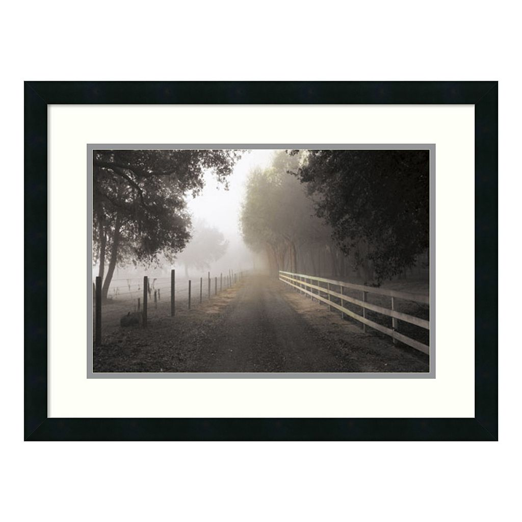 ''The Journey'' Perspective Framed Wall Art