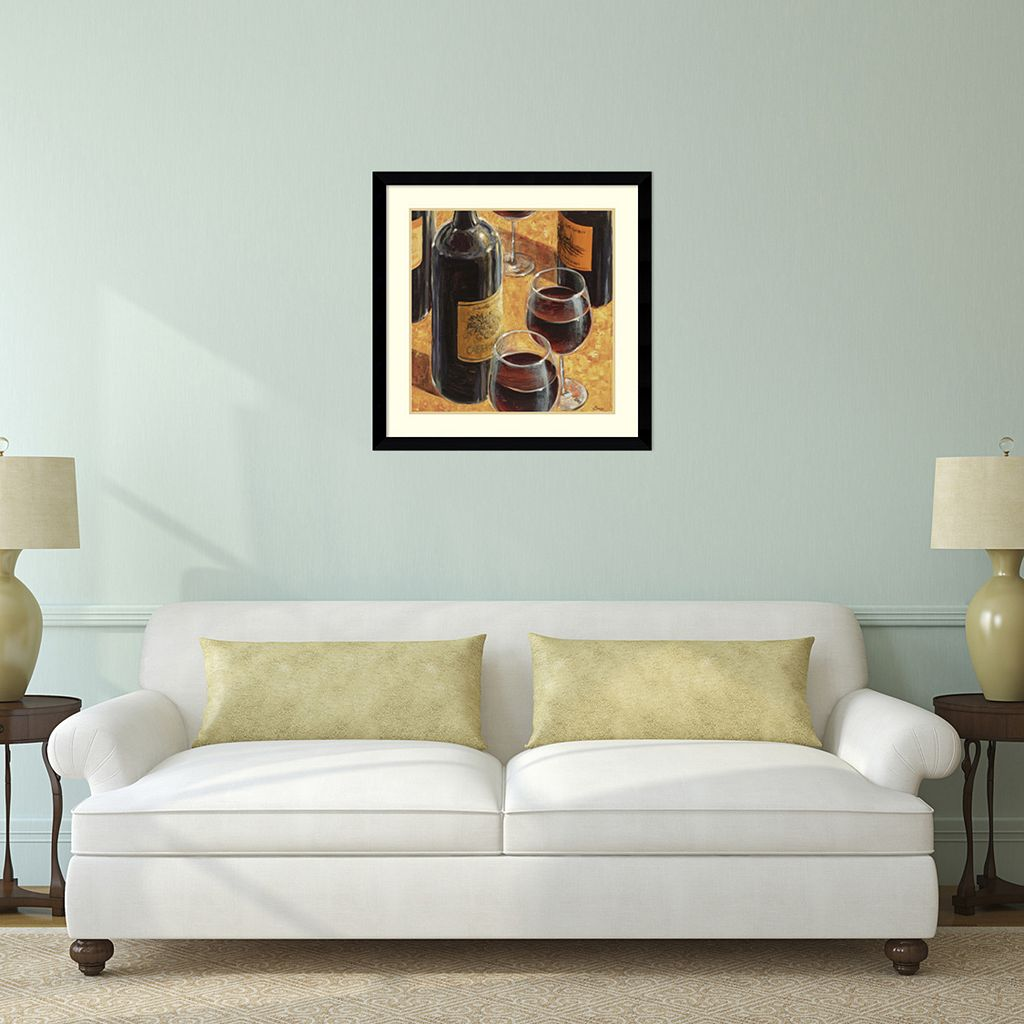 ''Wine Tasting I'' Framed Wall Art