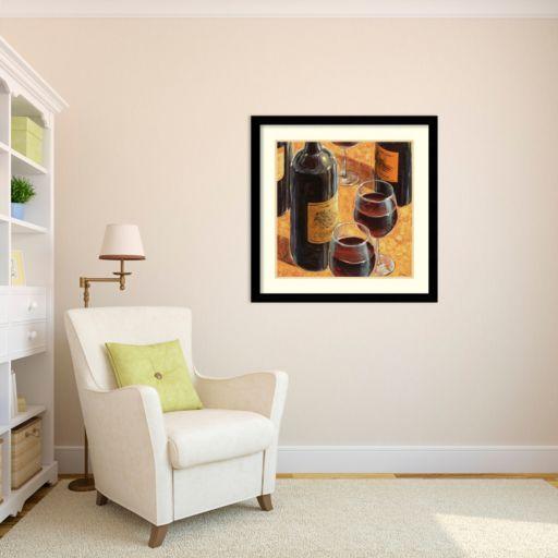 ''Wine Tasting I'' Framed Wall Art