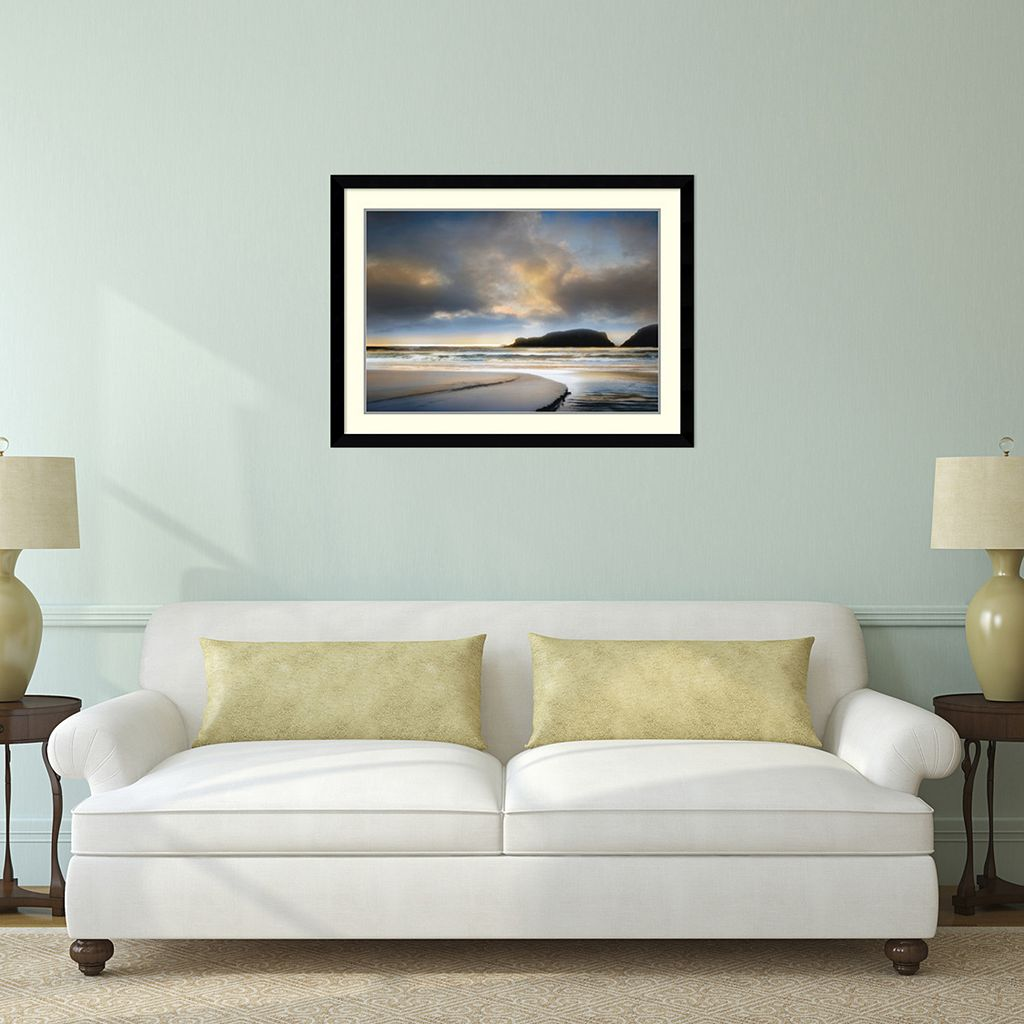 ''No Words to Say'' Beach Framed Wall Art