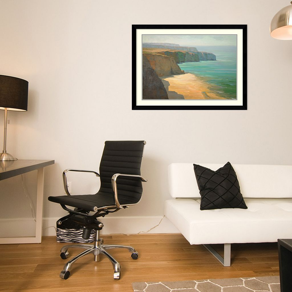 ''The Cliffs'' Framed Wall Art