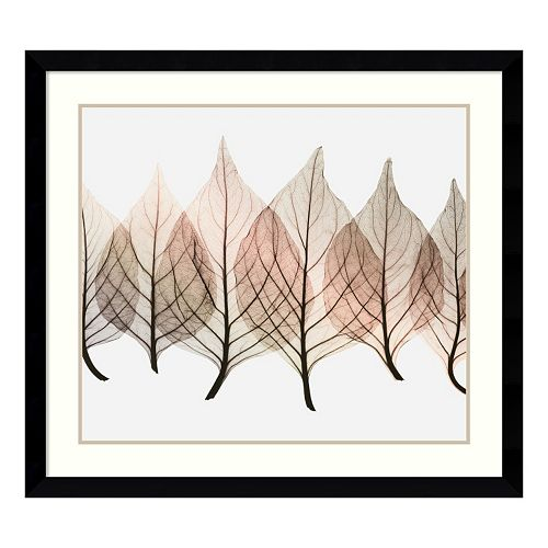 ''Celosias'' Leaf Framed Wall Art