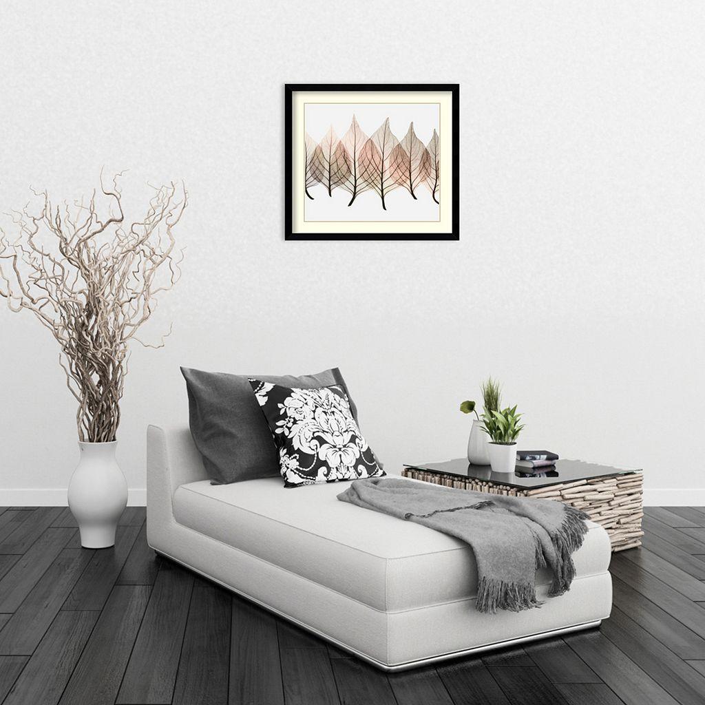 ''Celosias'' Leaf Framed Wall Art