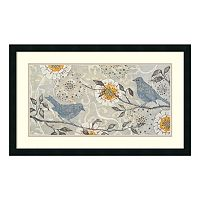 ''Silverwood I'' Bird Framed Wall Art