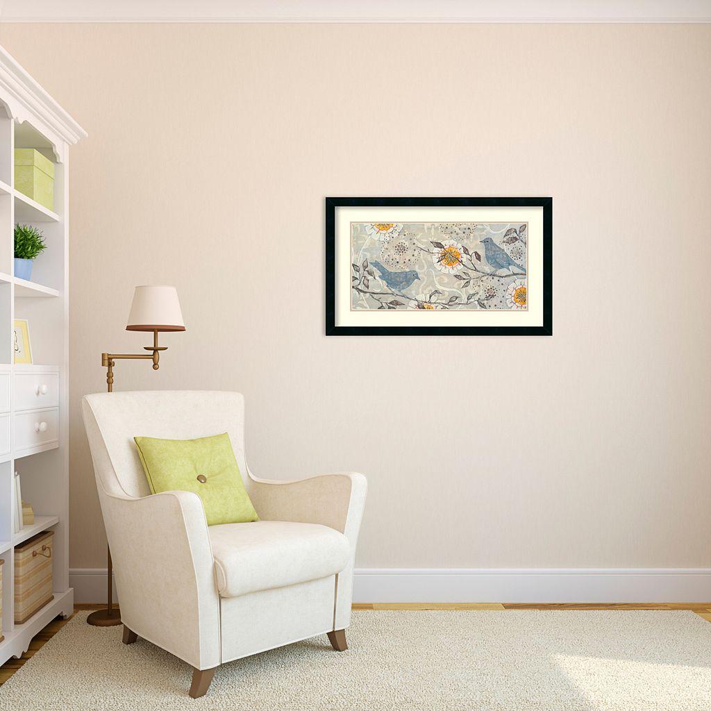 ''Silverwood I'' Bird Framed Wall Art