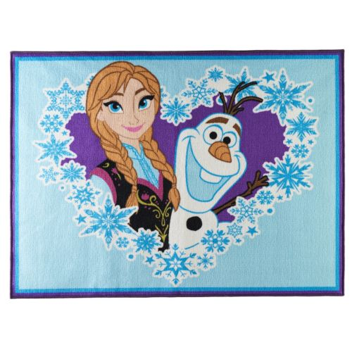 "Disney Frozen Anna and Olaf Rug – 40"" x 54"""