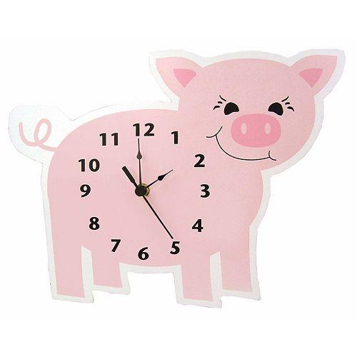 Trend Lab Piglet Wall Clock