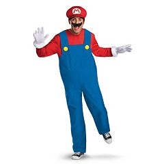 Nintendo Super Mario Brothers Mario Costume Adult by