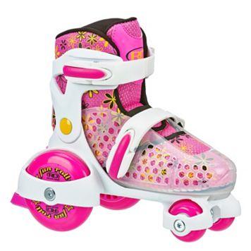 Roller Derby Fun Roll Jr. Adjustable Roller Skates - Girls