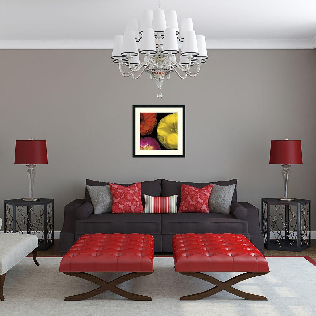 ''Ranunculus Right II'' Floral Framed Wall Art