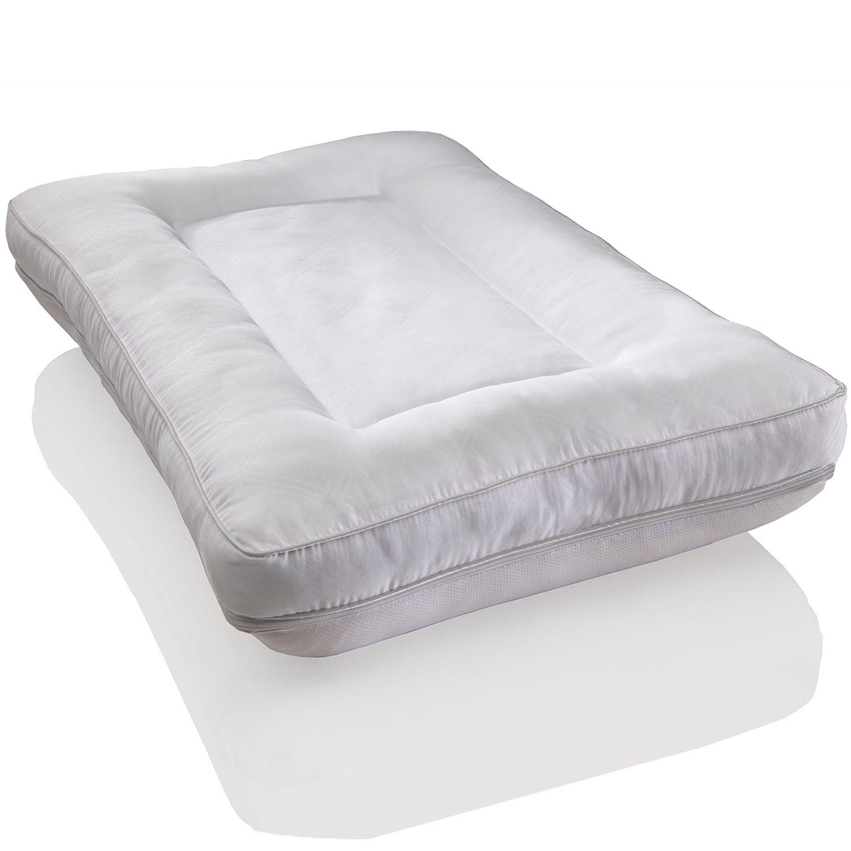 dream therapy 2in1 memory foam u0026 reversible pillow