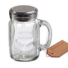 Artland Oasis 2 pc Mason Jar Shaker Set