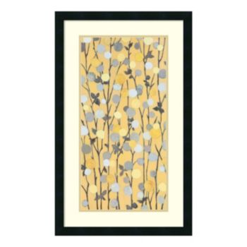''Mandarins II'' Floral Framed Wall Art