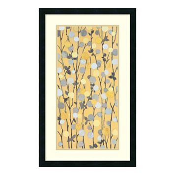''Mandarins II'' Floral Framed Wall Art