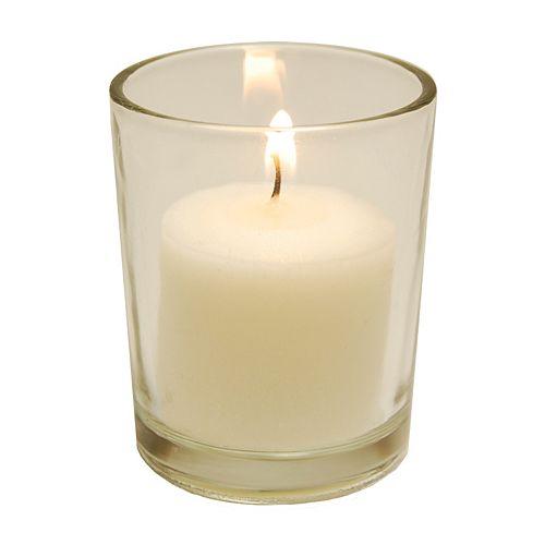 LumaBase 84-piece Votive Candle & Candleholder Set