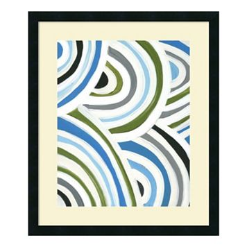 ''Swirly Bob I'' Framed Wall Art