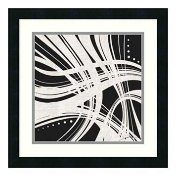 ''Whip It I'' Abstract Framed Wall Art