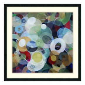 ''Circles 8'' Framed Wall Art