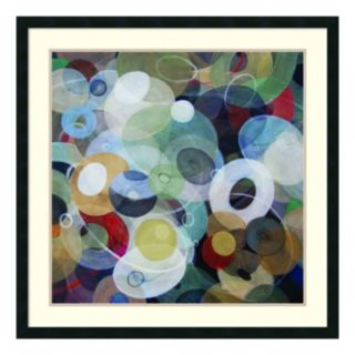 ''Circles 8'' Framed Wall Art