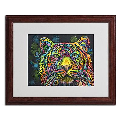 """""""Tiger"""" Framed Canvas Wall Art"""